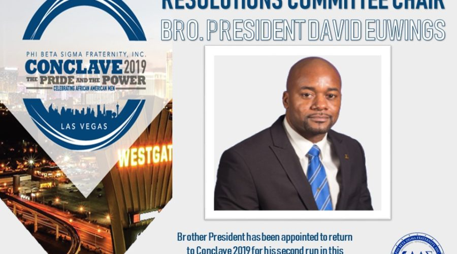 Brother President Euwings Appointed Chair