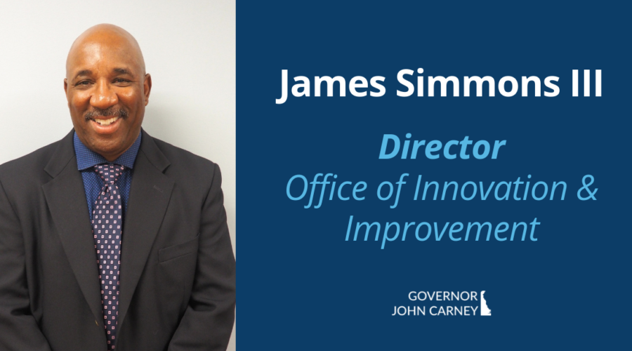 Brother James Simmons named new Director of DDoE Office of Innovation and Improvement