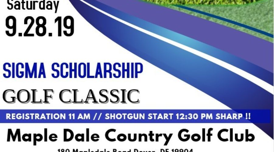 Sigma Scholarship Golf Classic Returns This Month